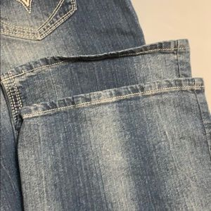 Royal Blue Jeans - Royal Blue Bootcut Jeans, 21 X 35